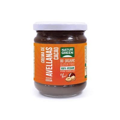 crema avellanas cacao naturgreen