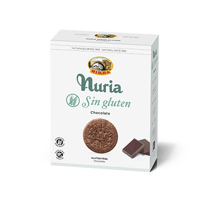 galleta nuria chocolate sin gluten 400g
