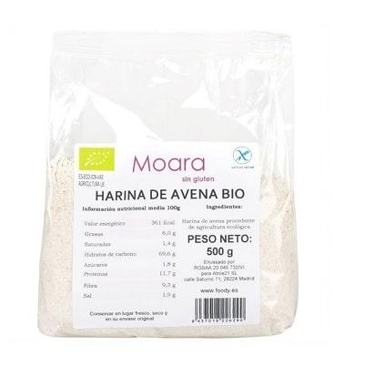 harina avena ecologica sin gluten moara