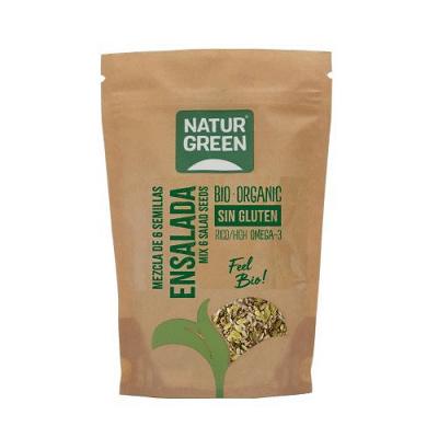 mezcla 6 semillas sin glutenecologicas naturgreen