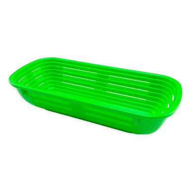 banneton rectangular plastico 500 gramos
