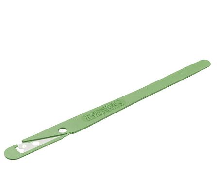 cuchilla de corte recta