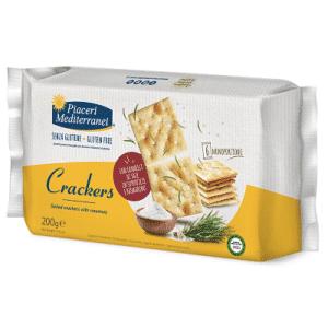 crackers sin gluten piacere mediterranei